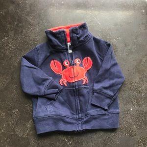 Carters Cotton Crab Jacket